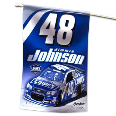 """Jimmie Johnson 27"""" x 37"""" Vertical Flag"""