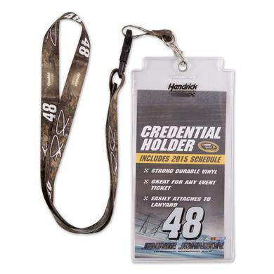 Jimmie Johnson Lanyard/Credentials