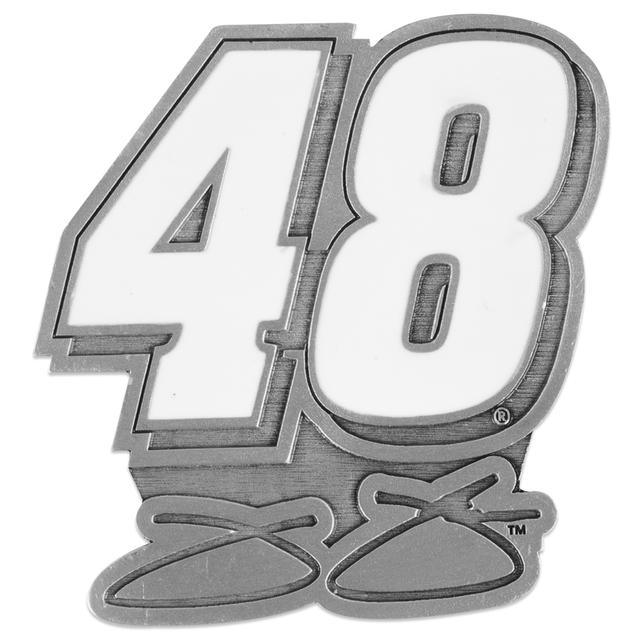 Jimmie Johnson Pewter Car Emblem