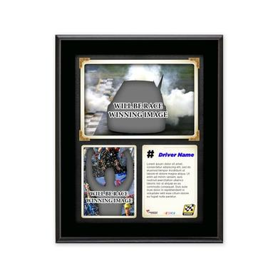 Jimmie Johnson 2015 Kansas Race Win Framed 15'' x 17'' Collage With -Used Tire