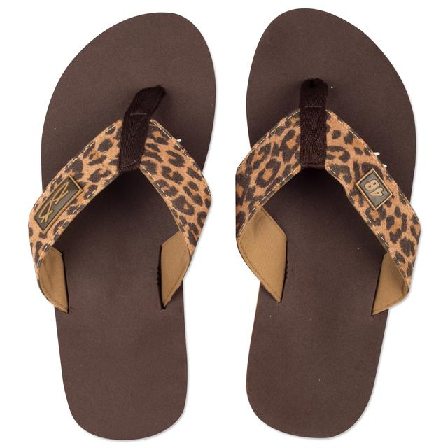 Jimmie Johnson Safari Flip Flops