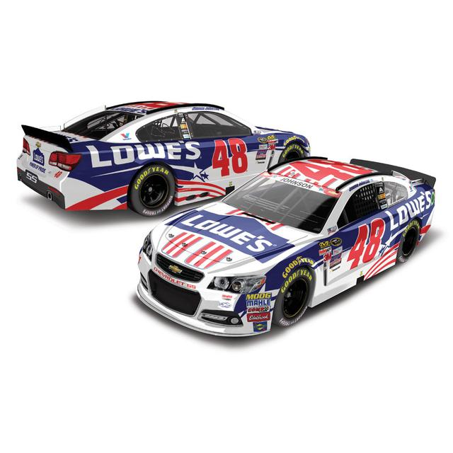 Jimmie Johnson #48 1:24 2015 Lowe's Patriotic Diecast