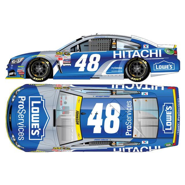 Jimmie Johnson #48 1:64 Scale 2015 Lowe's ProServices/Hitachi Diecast