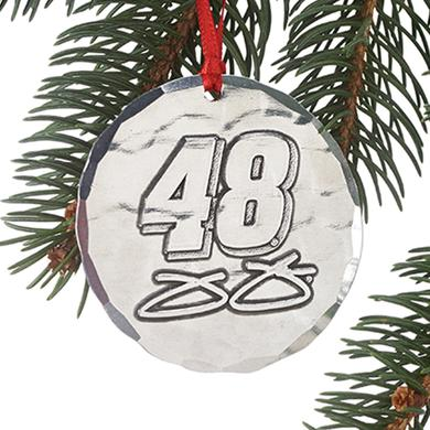 Jimmie Johnson #48 Round Ornament