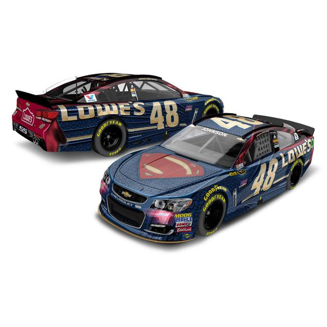 Jimmie Johnson 2016 #48 Superman 1:64 Scale Die-Cast