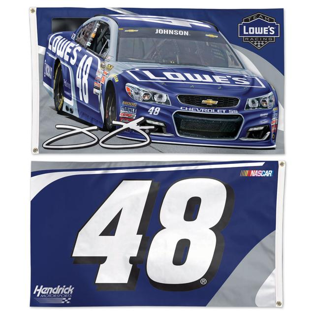 Jimmie Johnson #48 2 Sided 3' x 5'  Flag