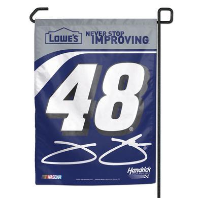 """Jimmie Johnson #48 11"""" x 15"""" Garden Banner"""