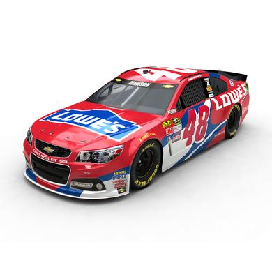 Jimmie Johnson 2016 #48 Lowe's Red Vest 1:24 Scale Nascar Sprint Cup Series Die-Cast