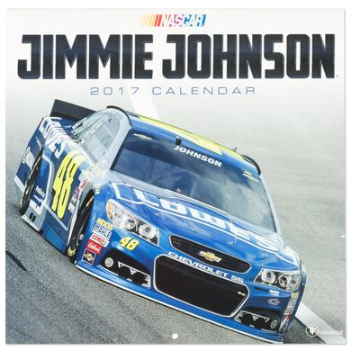 "Jimmie Johnson #48 2017 12""x 12"" Wall Calendar"
