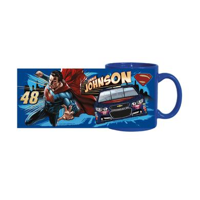 Jimmie Johnson #48 Sub. Superman 11oz. Mug--Color