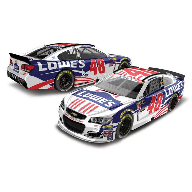 Jimmie Johnson #48 2016 Power of Pride 1:24 Scale Nascar Sprint Cup Series Die-Cast