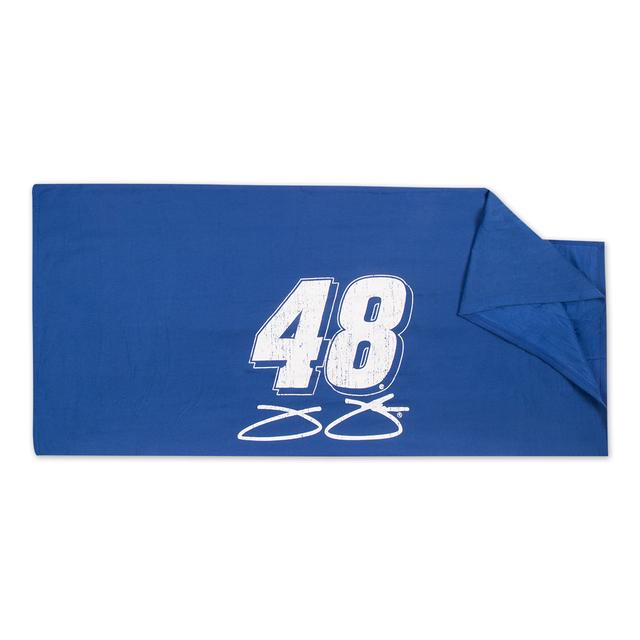 Jimmie Johnson Sweatshirt Blanket