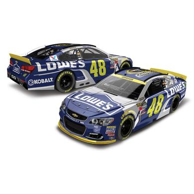 Jimmie Johnson #48 Lowe's 2016 Champ 1:24 Scale NASCAR Sprint Cup Series Die-Cast