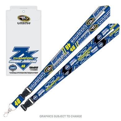 Jimmie Johnson 2016 NASCAR Sprint Cup Champion Lanyard & Credential Holder