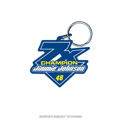 Jimmie Johnson 2016 NASCAR Sprint Cup Champion Premium Acrylic Key Ring
