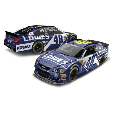 Jimmie Johnson 2017 NASCAR No. 48 Lowe's 1:24 Die-Cast