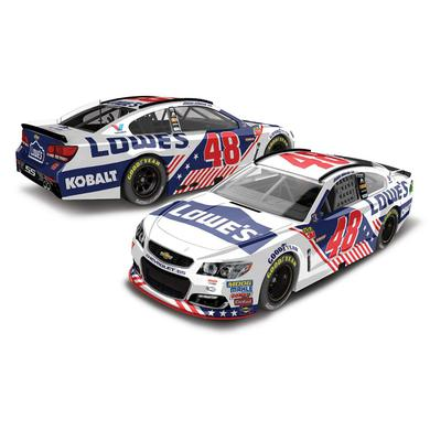 Jimmie Johnson 2017 NASCAR Cup Series No. 48 Lowe's Patriotic 1:64 Die-Cast
