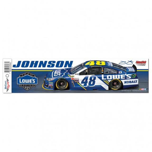 "Jimmie Johnson Bumper Strip - 3"" x 12"""