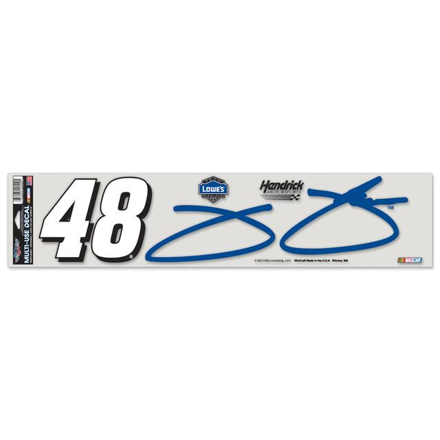 Jimmie Johnson-2014 4x17 ultra decal