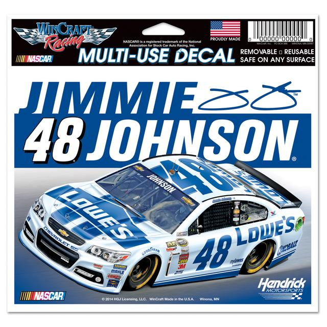 Jimmie Johnson-2014 5x6 ultra decal