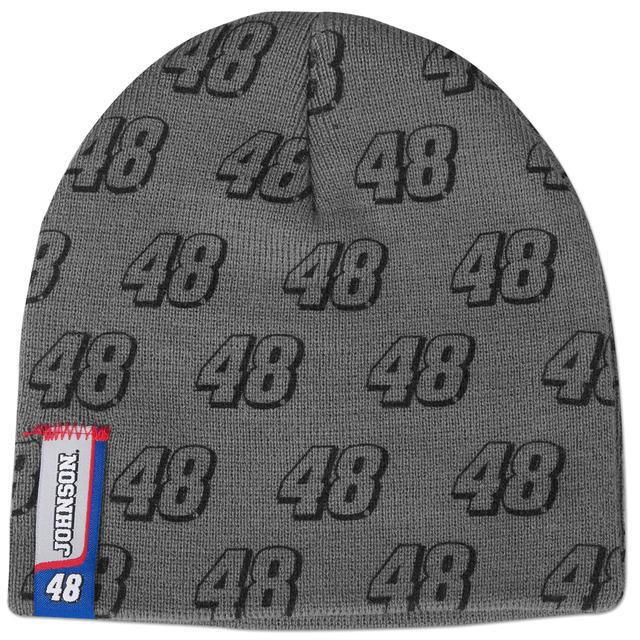 Jimmie Johnson #48 Youth Grey Knit Beanie