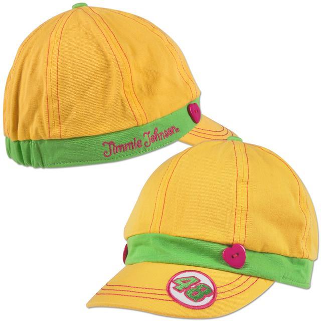 Jimmie Johnson #48 Girls Pageboy Hat