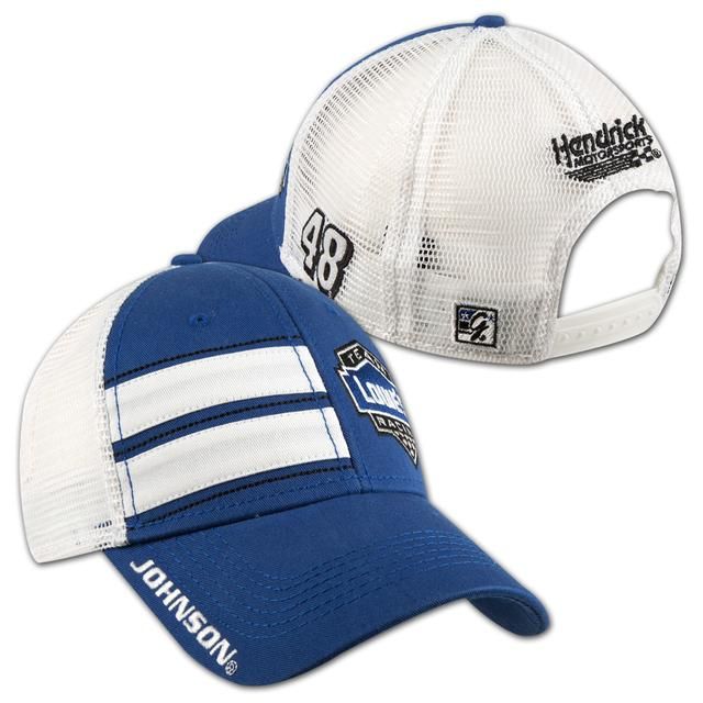 Jimmie Johnson #48 Lowe's Vintage Dual Stripe Cap