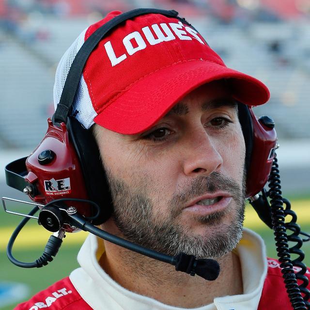 Jimmie Johnson #48 2014 Lowe's Red Vest Hat