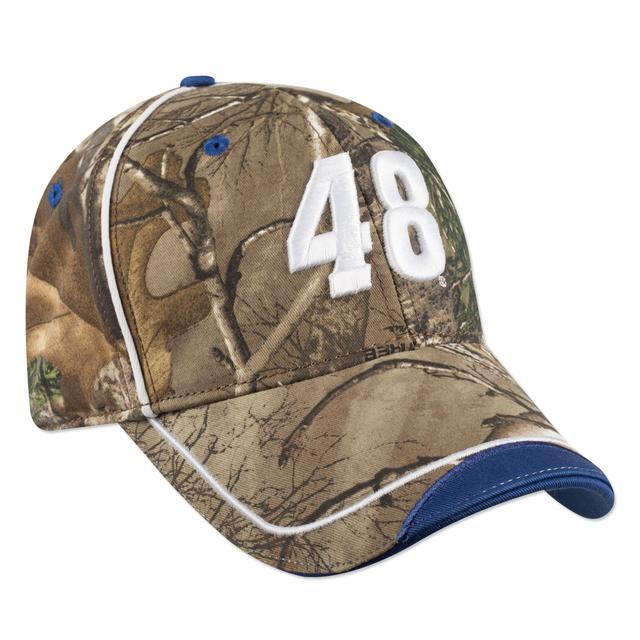 Jimmie Johnson #48 RT Camo Drag Hat