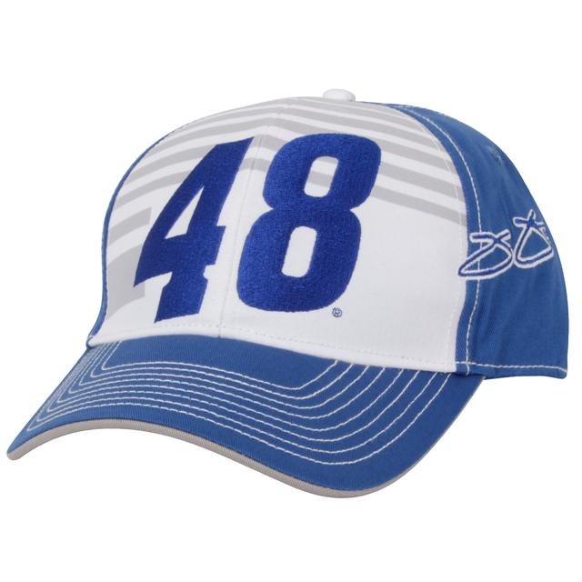 Jimmie Johnson Big Number Stripe Hat