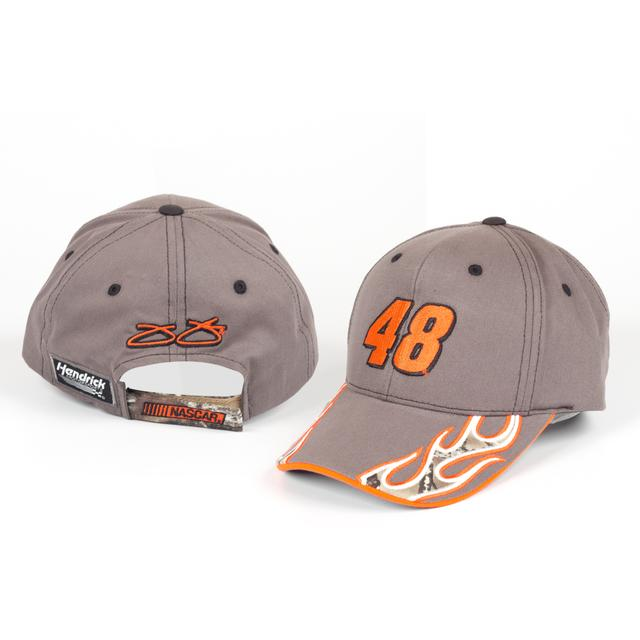 Jimmie Johnson #48 Camo Flame Hat