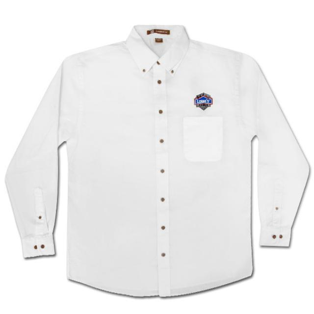 Jimmie Johnson Team Lowes Racing Long Sleeved Twill Shirt