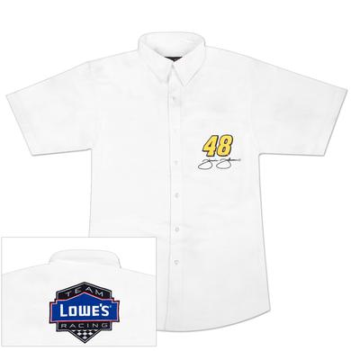 Jimmie Johnson #48 Lowe's Ladies Twill Shirt