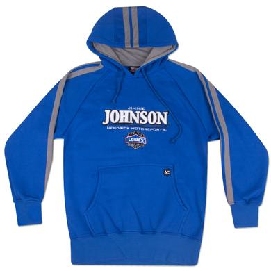 Jimmie Johnson #48 Lowes Striped Hoodie