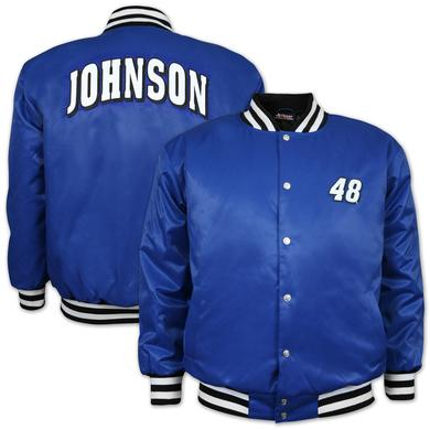 Jimmie Johnson #48 Varsity Letterman Jacket