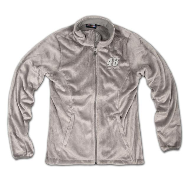 Jimmie Johnson #48 Ladies Ultra Plush Midweight Jacket