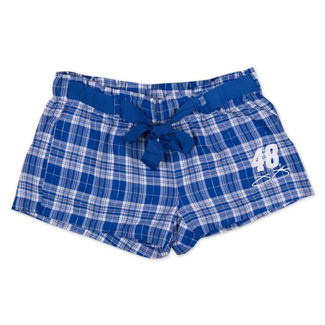 Jimmie Johnson Ladies' Flannel Short