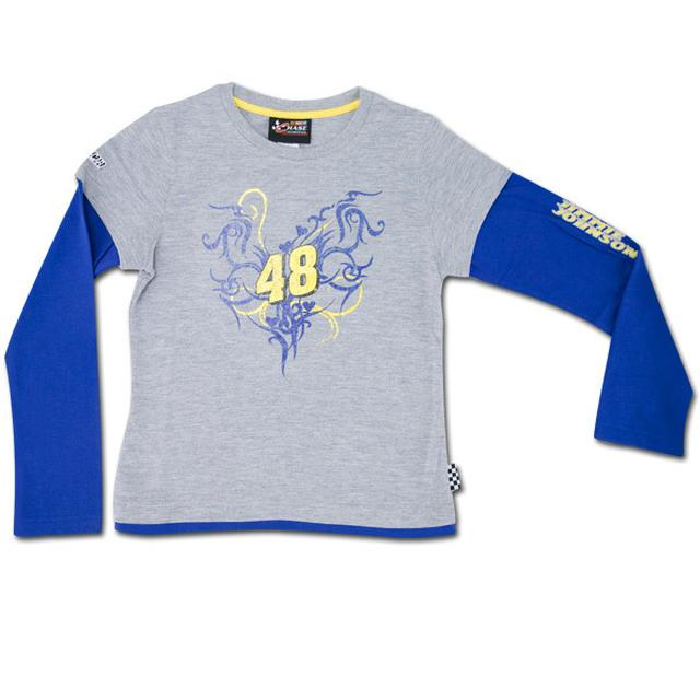 Jimmie Johnson #48 Girl's Speedway Layered T-Shirt