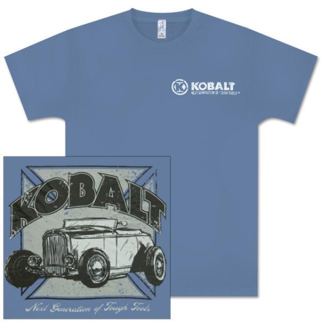 Jimmie Johnson EXCLUSIVE Kobalt Tools Hot Rod Iron Cross T-Shirt