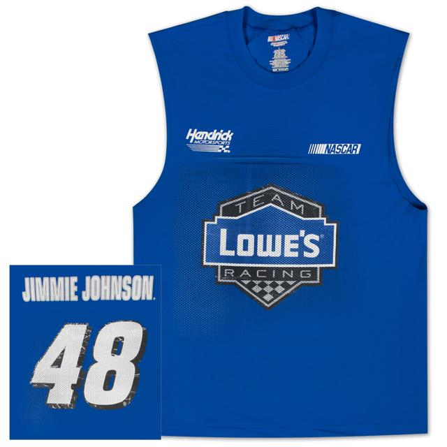 Jimmie Johnson #48 Lowes Sleeveless Shooter T-shirt