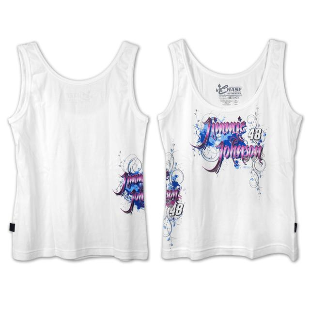 Jimmie Johnson #48 Ladies Heartbreaker Tank