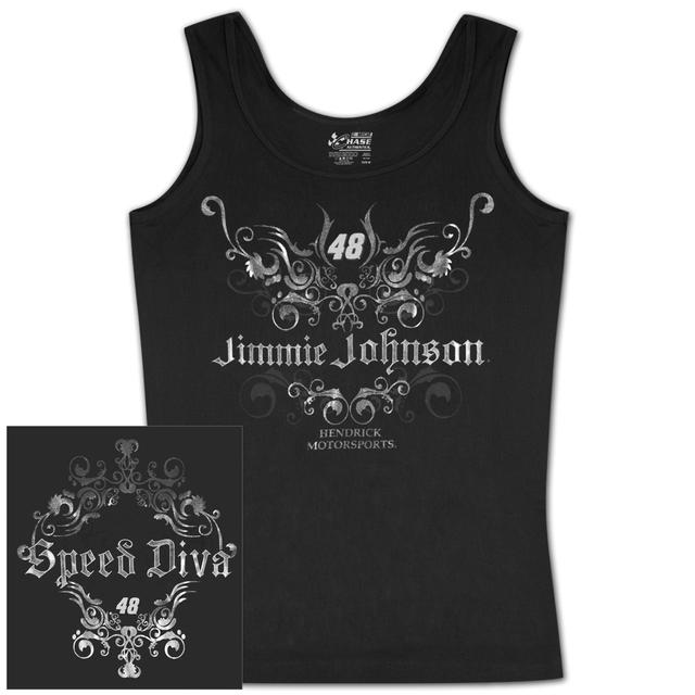 Jimmie Johnson Ladies Speed Diva Tank