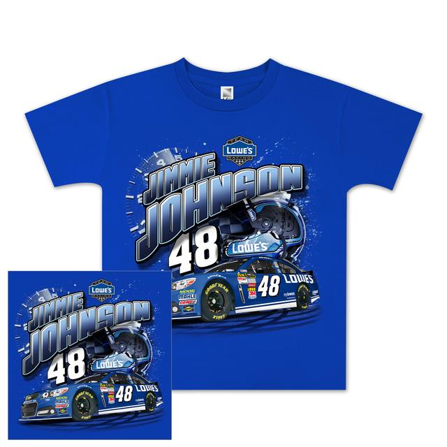 Jimmie Johnson #48 Youth Showtime T-shirt