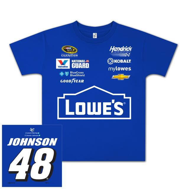 Jimmie Johnson #48 Lowe's Youth Uniform T-shirt