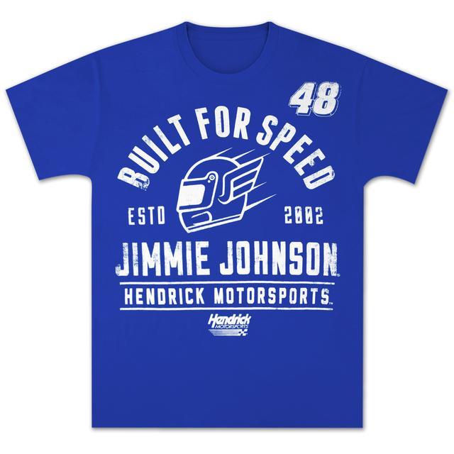 Jimmie Johnson #48 Old School Helmet T-shirt