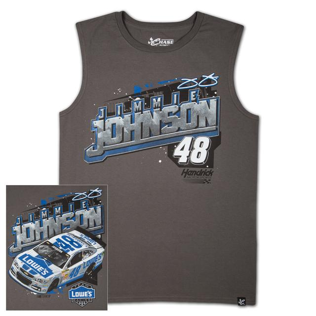 Jimmie Johnson #48 Lowes Wedge Muscle T-shirt