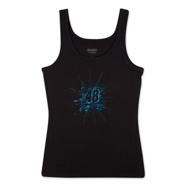 Jimmie Johnson 2015 Ladies Speed Foil Tank