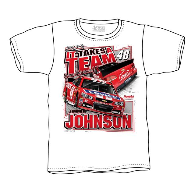 Jimmie Johnson #48 2014 Lowe's Red Vest Tee