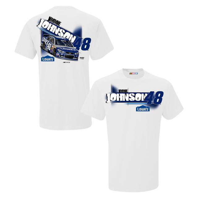 Jimmie Johnson #48 Down the Line T-Shirt