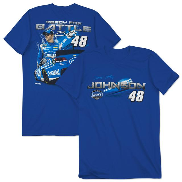 Jimmie Johnson #48 Men's Light 'Em Up T-Shirt